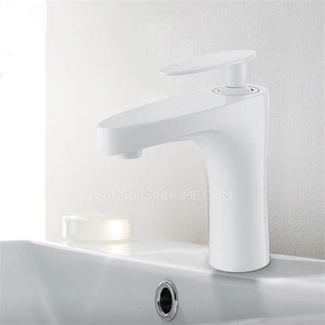 Modern Bathroom Faucets Sale Modern Wall Mount White Painting Bathroom Faucet Sale