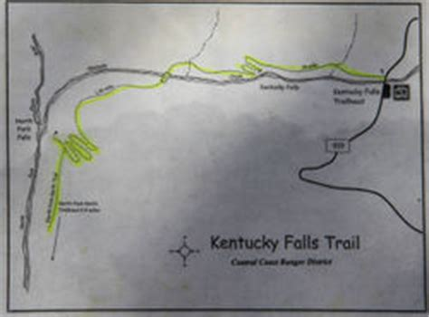 kentucky falls map kentucky falls hike hiking in portland oregon and