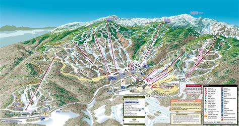 mountain vt stowe mountain resort piste map plan of ski slopes and lifts onthesnow