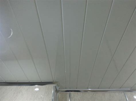 bathroom pvc ceiling 7 white pvc panels with v groove for bathroom ceilings
