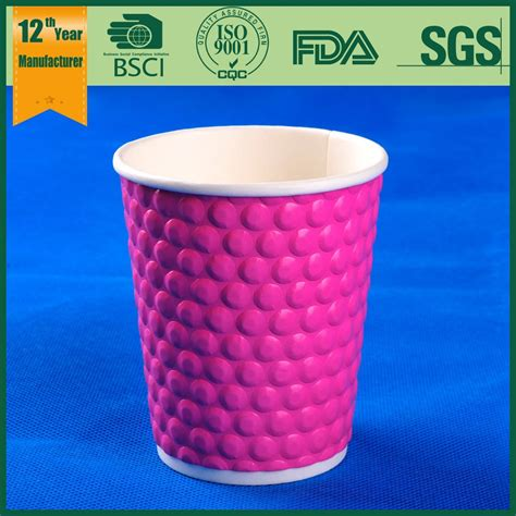 Paper Cup Large 1 Large Coffee Cups Embossed Paper Cup Coffee Paper Cup