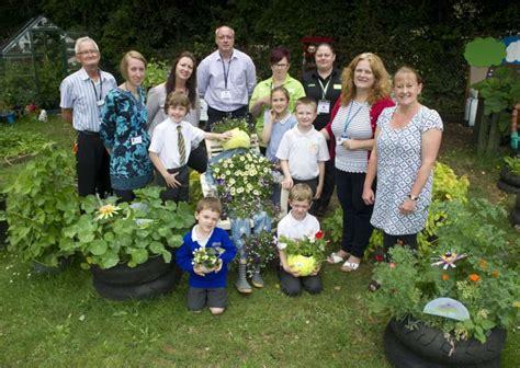 garden inspires unusual planters  bury st edmunds school