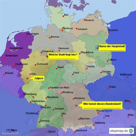 deutsches büro grüne karte formular deutschlandkarte mit bundesl 228 ndern stephanusschule