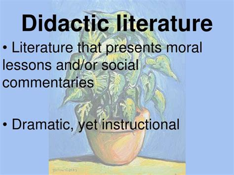 didactic literature www imgkid com the image kid has it