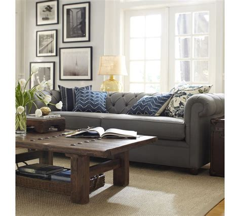 chesterfield sofa living room inspiration