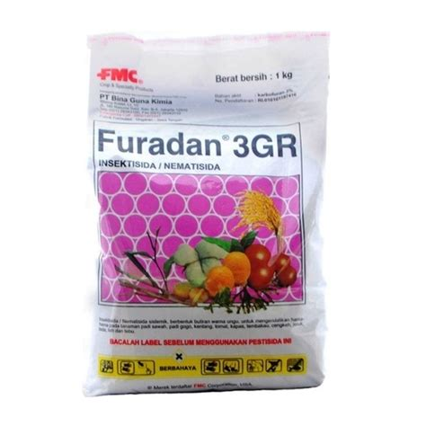 Furadan Padi insektisida nematisida furadan 3gr 1 kg bibitbunga