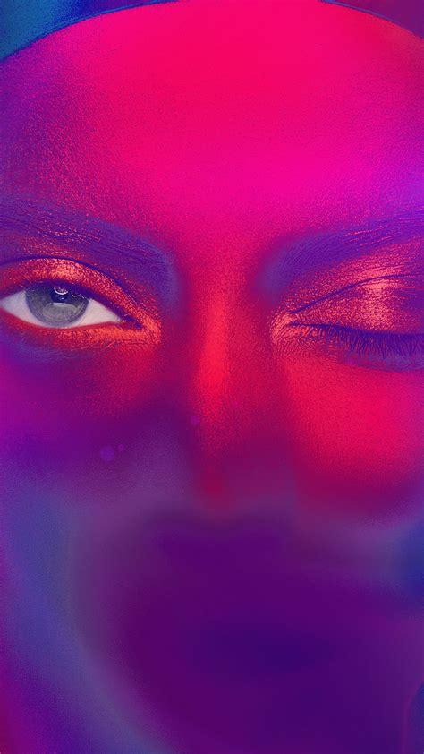 az eye rainbow color illustration art flare wallpaper