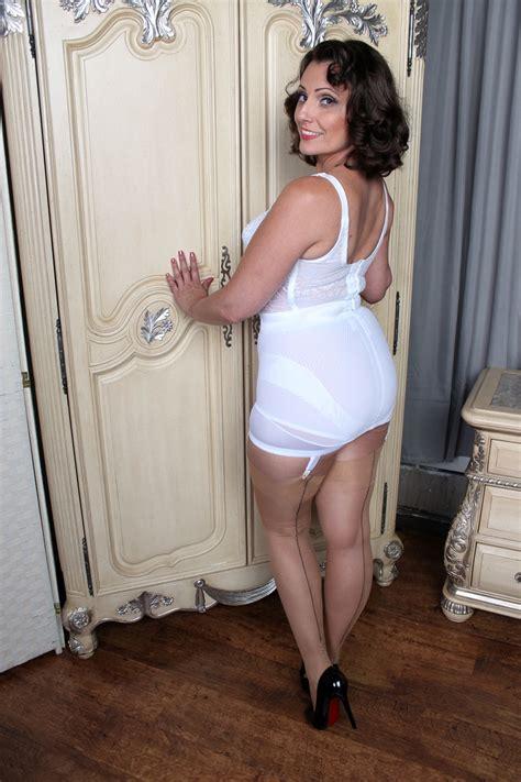 grany s wear open end girdles vintage underwear the full ensemble pinterest