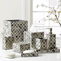Springmaid Bathroom Accessories Quot Marrakesh Quot Bone Bath Accessories By Kassatex From Kellsson Home Linens Contemporary