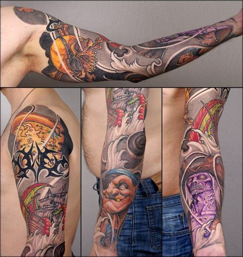 pirate tattoos for men pirate sleeve for best ideas gallery