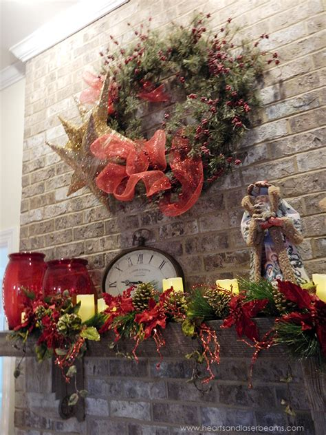 Fireplace Wreaths by A Carole Beautiful Decorations