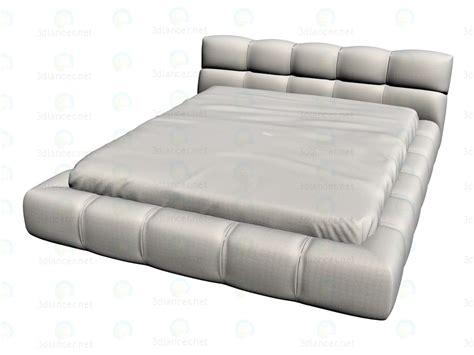 bett 3d 3d modell bett ltu170 vom hersteller b b italia tufty bed