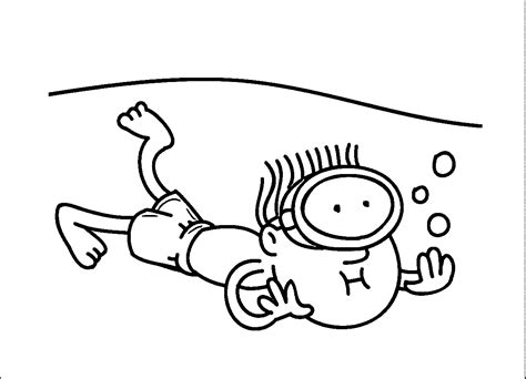 coloring page boy swimming swimming coloring pages coloringsuite com