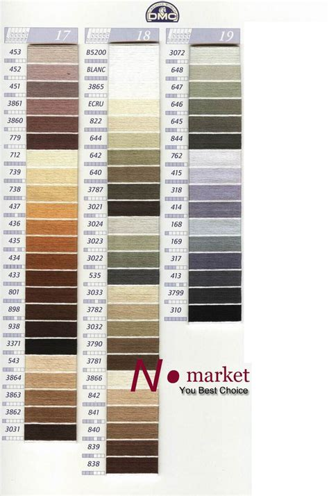dmc floss color chart 7 best dmc floss color chart and numbers chart 2 images