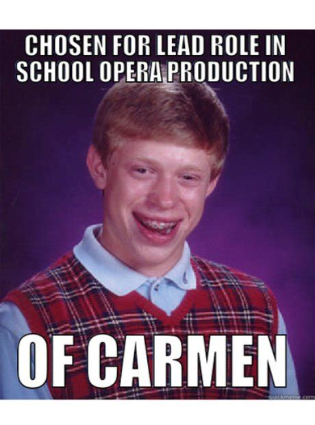 Classical Music Memes - bad luck brian classical music in internet memes