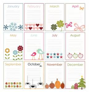 free printable perpetual calendars the birthday display