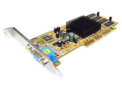 Vga Card Slot Agp powercolor nvidia geforce2 mx200 64mb vga tv out agp graphics card cmx8l 200 ebay
