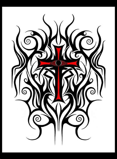feminine cross tattoo designs 17 best images about crosses on tribal cross