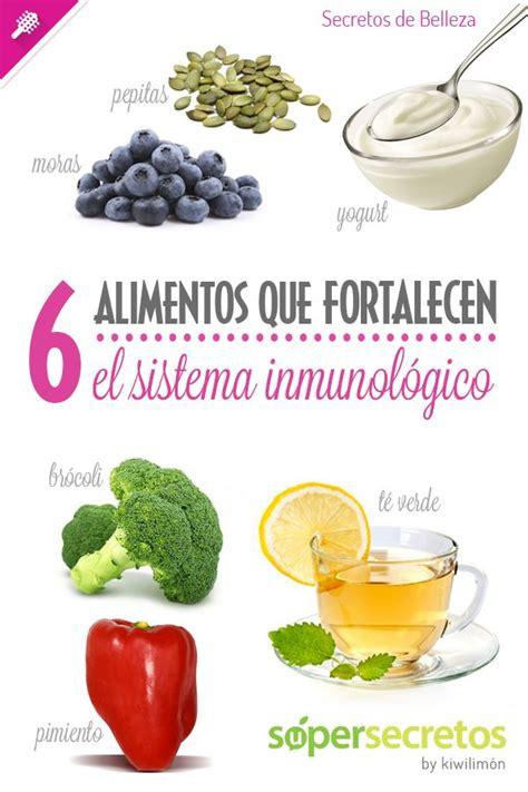 alimentos para el sistema inmunologico 17 mejores ideas sobre sistema inmunitario en pinterest