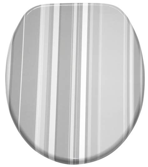Wc Sitz Mit Absenkautomatik Grey Stripes Wcshop24 De