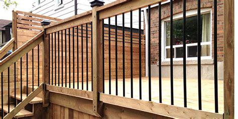 deck railing design ideas toronto