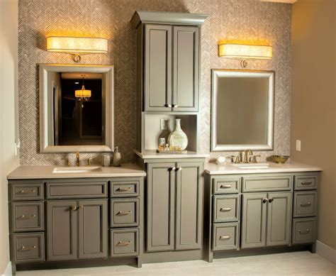 Bathroom Vanity Linen Cabinet Bathroom Vanity And Linen Cabinet Sets Home Design