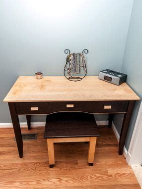 Custom Vanity Table And Bench By Design By Jeff Spugnardi
