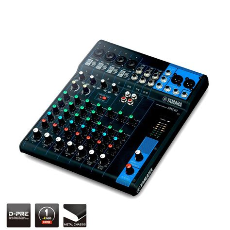Mixer Yamaha F4 mg series overview mixers professional audio
