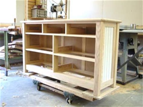 Dresser Construction by Handcrafted Morris Chairs Custom Furniture