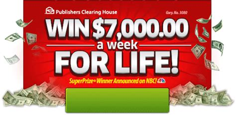 Who Won The 7000 A Week For Life Pch - you could win 7 000 00 a week for life on april 30th pch blog