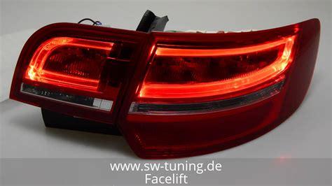 audi a3 sportback led lights sw celi led taillight for audi a3 sportback 8pa 03 13