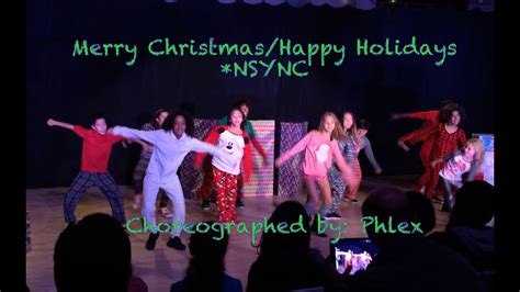 mitch hip hop nsync merry christmas happy holidays youtube