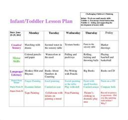 infant lesson plan template toddler lesson plan template blank preschool weekly