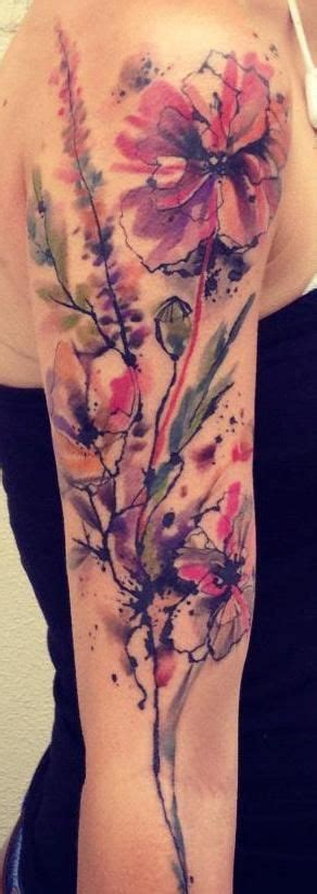 watercolor tattoo sleeve 25 best ideas about abstract watercolor tattoos on