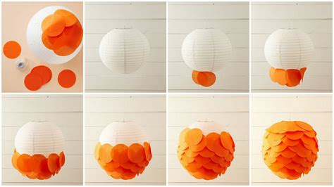 A Lantern Out Of Paper - bonafidebride diy project sweet whimsical paper lanterns