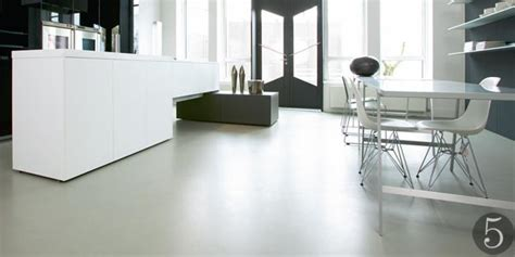 Poured Concrete Kitchen Floor by Flooring For Every Room Real Homes