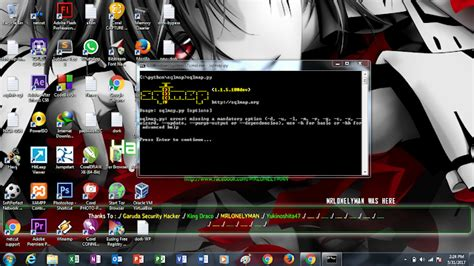 tutorial deface menggunakan sqlmap tutorial sql injection dengan sqlmap pada windows 7