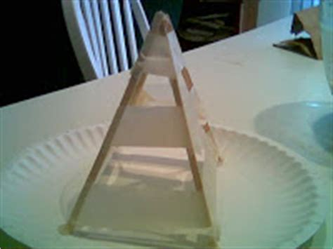 How To Make A Paper Mache Pyramid - doc thelma s kitchen paper mache pyramid