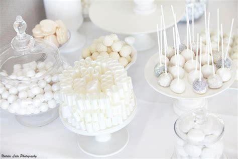 Kara's Party Ideas White   Silver Wedding   Kara's Party Ideas