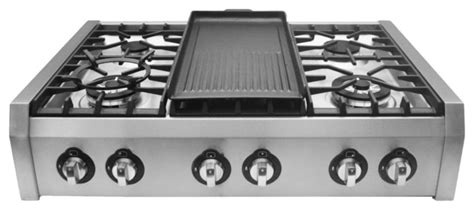 modern gas cooktop cosmo 36 quot professional style slide in gas cooktop modern