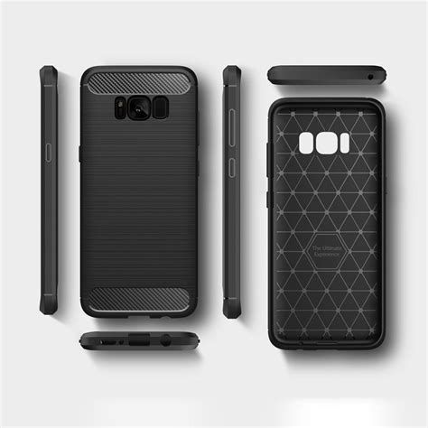 carbon cover tpu for samsung galaxy s8 g950 blue blue hurtel pl gsm wholesale