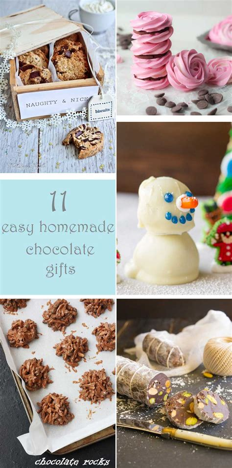 easy diy gifts 11 easy chocolate gifts scrummy