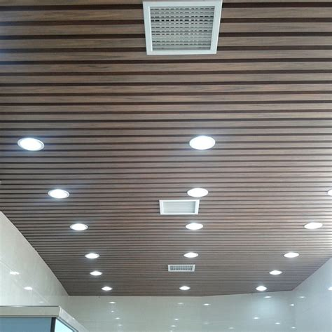 Decke Material by New Mateial No Pollution Wpc Ceiling Exportimes