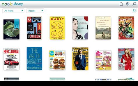 book apps for android barnes noble nook app updated to version 3 4 high resolution magazines re sizeable book