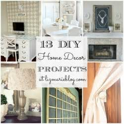 Home Decorating Projects by 13 Diy Home Decor Projects