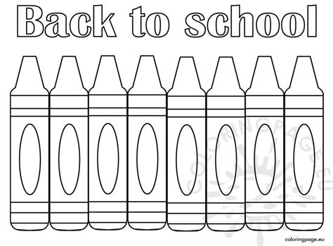 back to school coloring page free printable coloring page