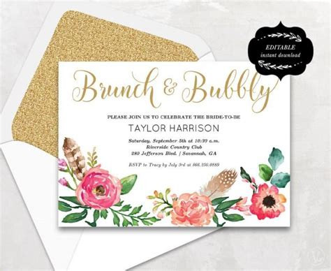 bridal shower card template crab floral bridal shower template printable bridal shower