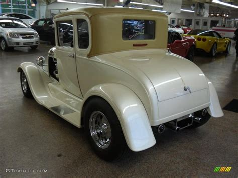 1930 Home Interior by Pearl White 1929 Ford Model A Coupe Rod Exterior Photo