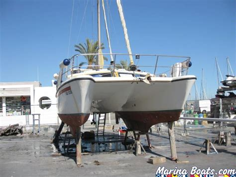 prout quest catamaran for sale prout catamarans quests 31 in port ginesta catamarans
