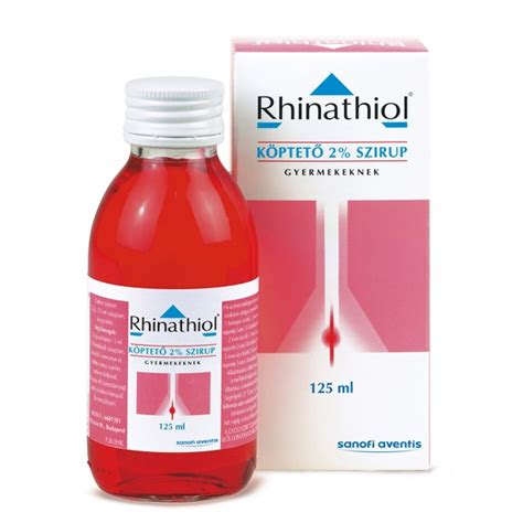 Rhinathiol 2% children and Infant Syrup